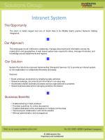 intranet system