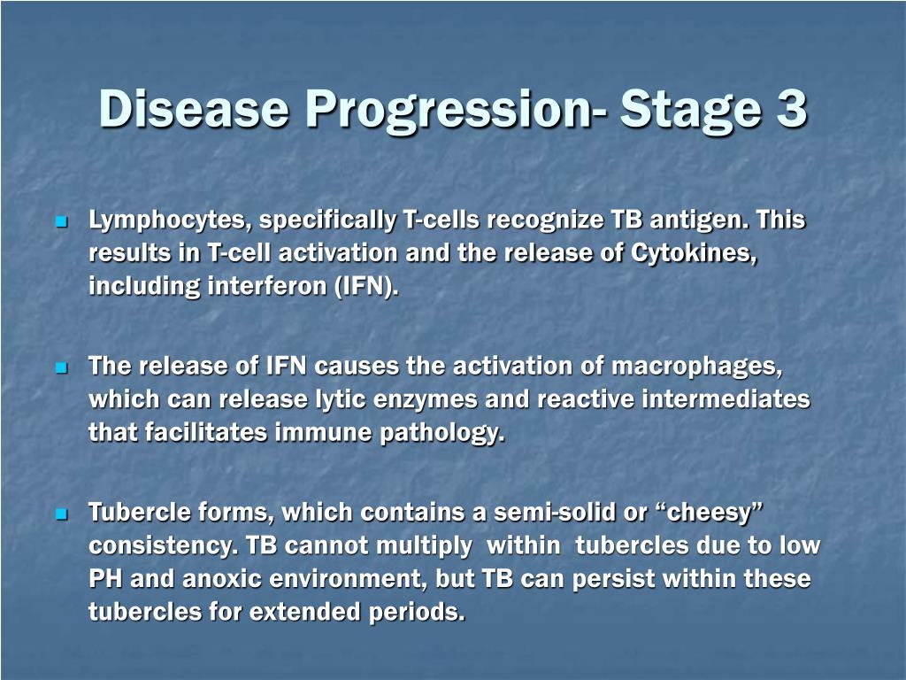 Disease Progression- Stage 3