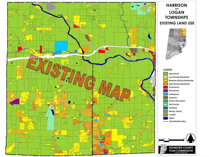 EXISTING MAP
