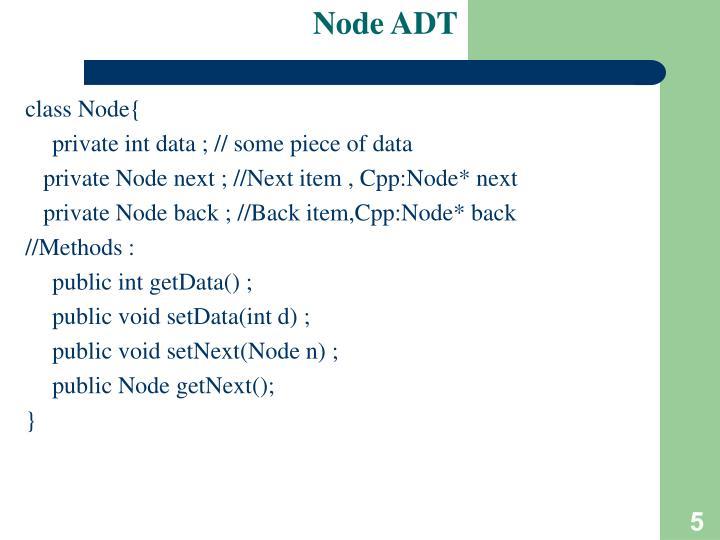 Node ADT