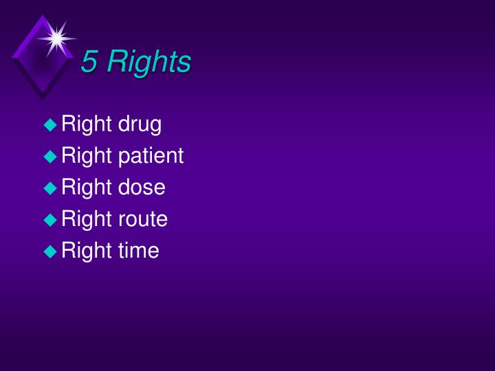 5 Rights