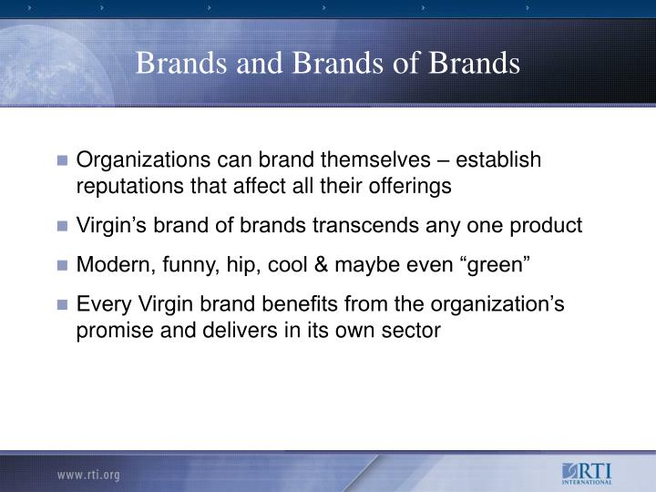 Brands and Brands of Brands