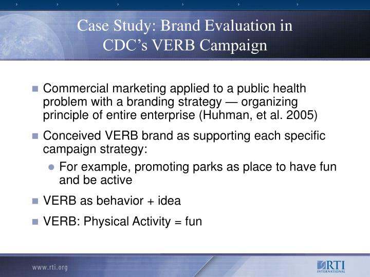 Case Study: Brand Evaluation in