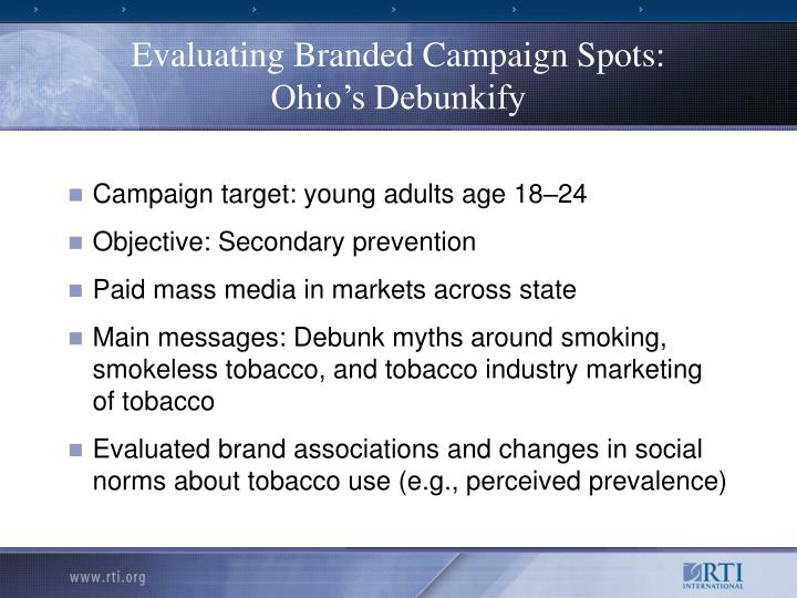 Evaluating Branded Campaign Spots: