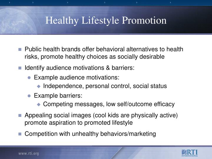 Healthy Lifestyle Promotion