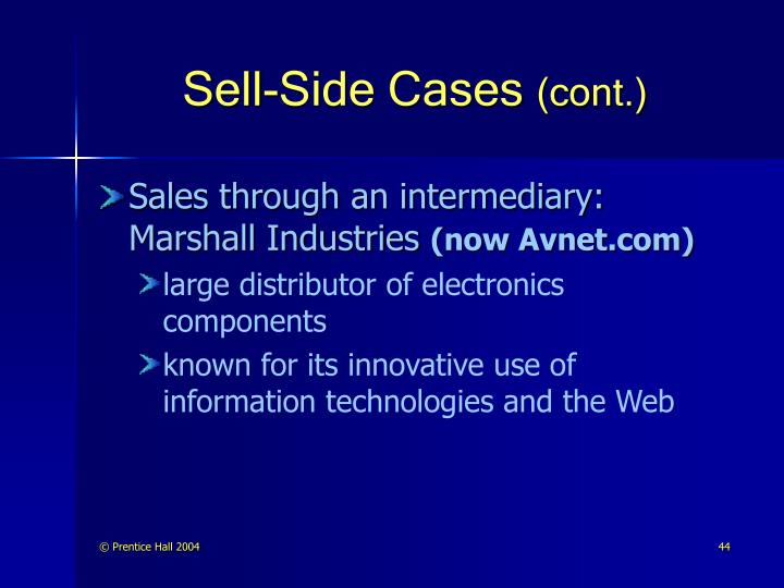 Sell-Side Cases