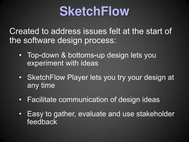 SketchFlow