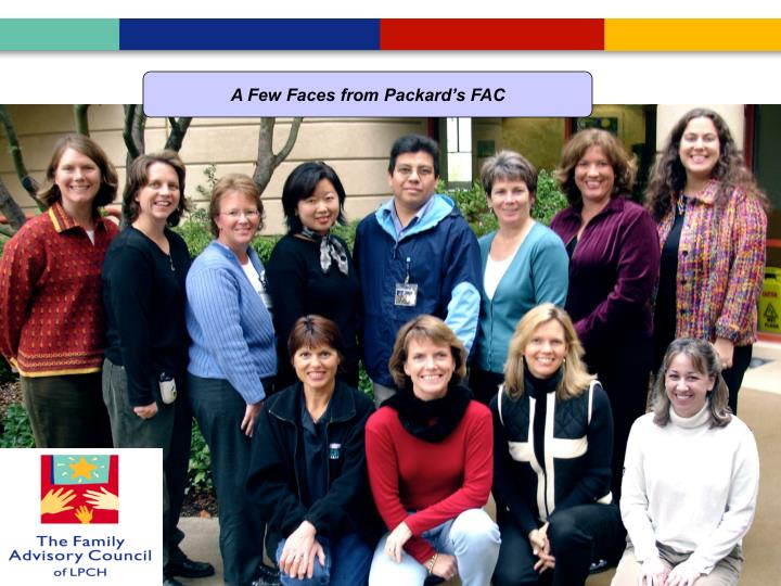 A Few Faces of Packard's Family Advisory Council