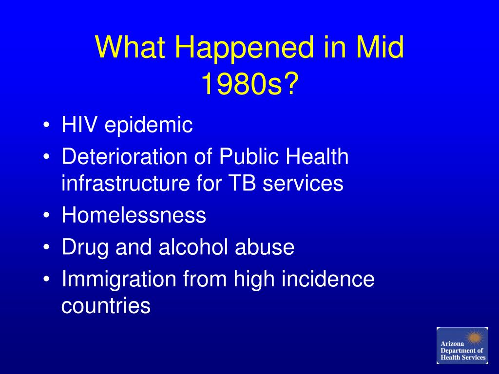 What Happened in Mid 1980s?
