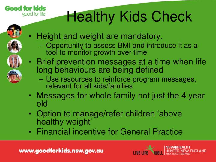 Healthy Kids Check