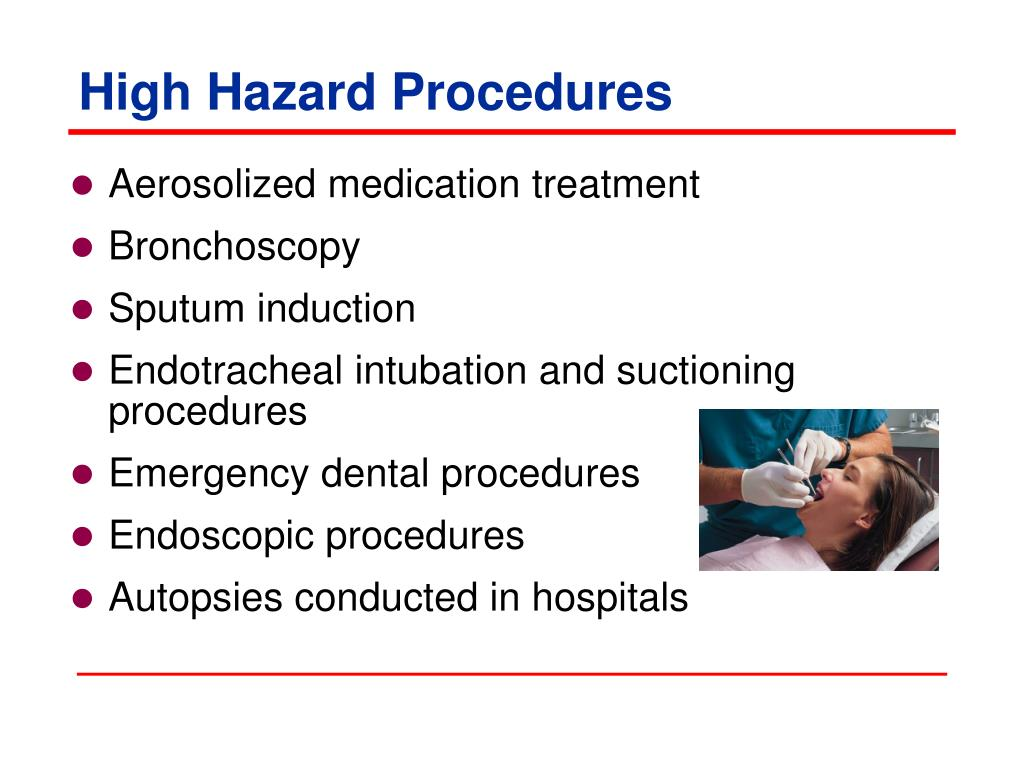 High Hazard Procedures