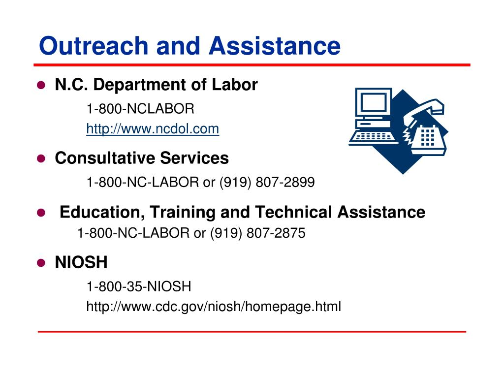 Outreach and Assistance