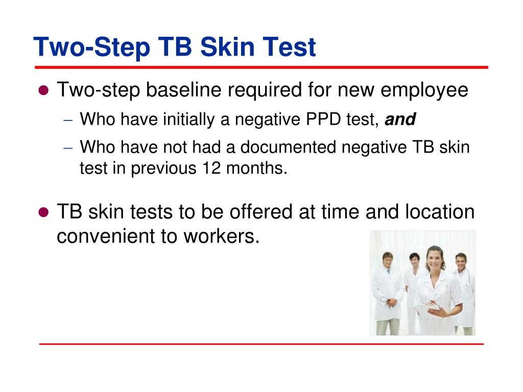 Two-Step TB Skin Test