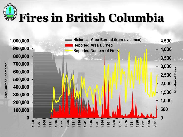 Fires in British Columbia