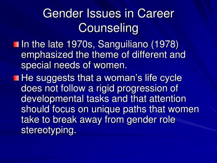 Women in development