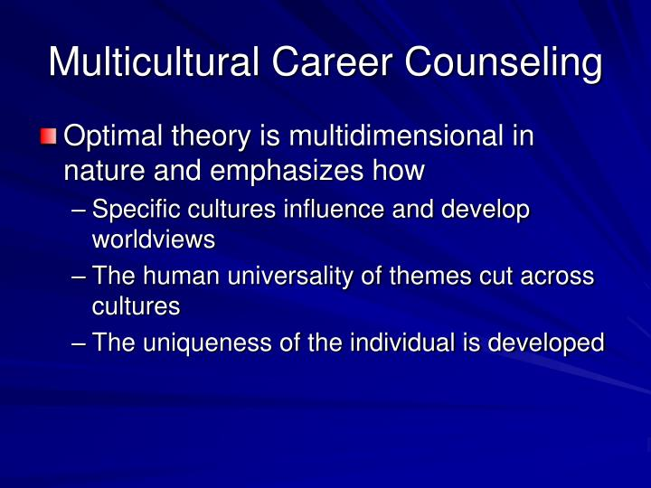 counseling diverse populations Serving the needs of diverse populations  social work, professional counseling, marriage and family therapy, addiction counseling, and nursing.