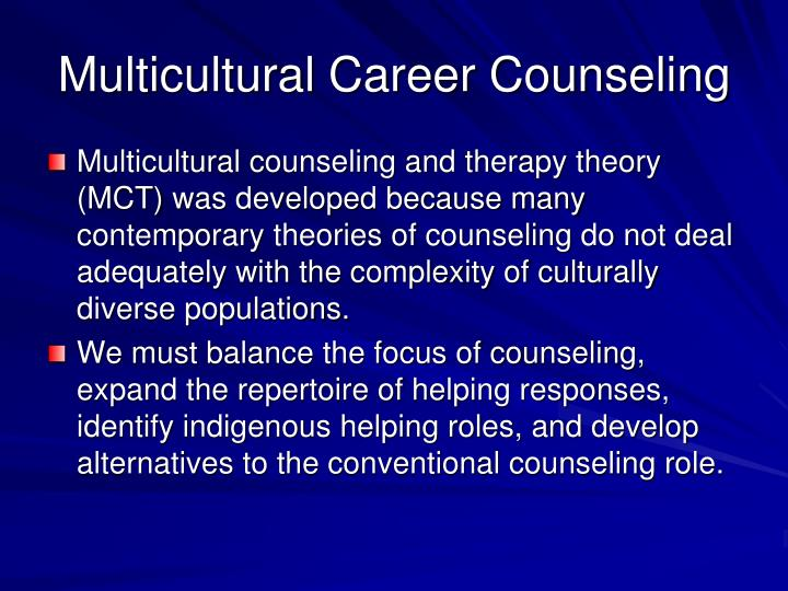 The Therapy Relationship in Multicultural Psychotherapy