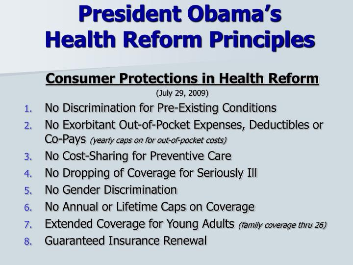 Consumer Protections in Health Reform