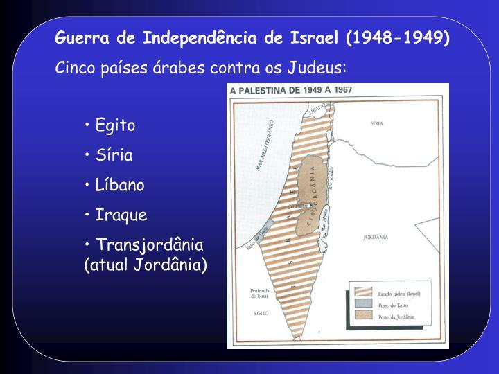 Guerra de Independência de Israel (1948-1949)