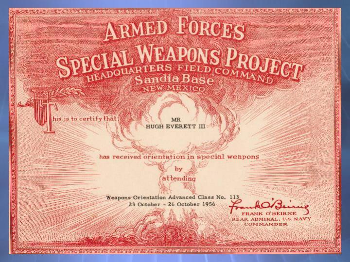 Weapons cert.