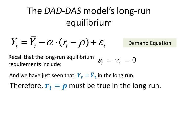 inflation and run equilibrium values Cfa level 1 - short and long-run macroeconomic equilibrium cfa level 1 - short and long-run macroeconomic equilibrium topics so in the long-run, inflation.