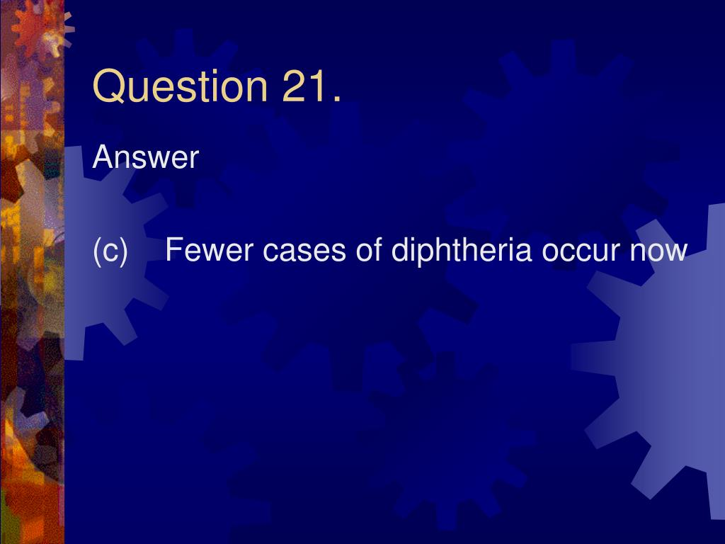 Question 21.