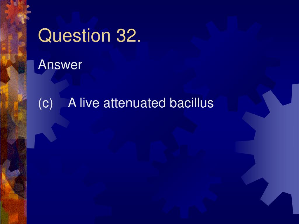 Question 32.