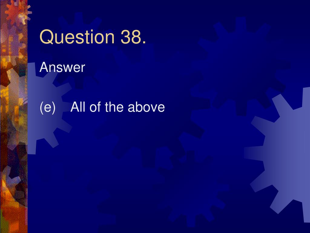 Question 38.