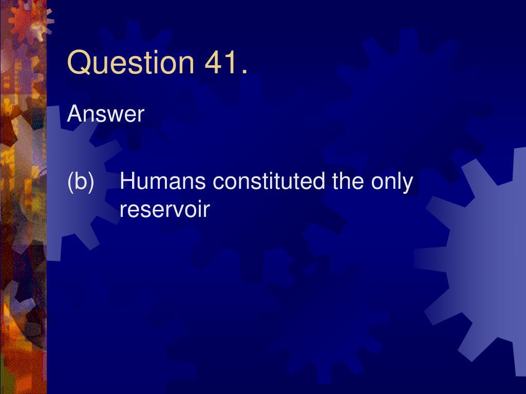 Question 41.
