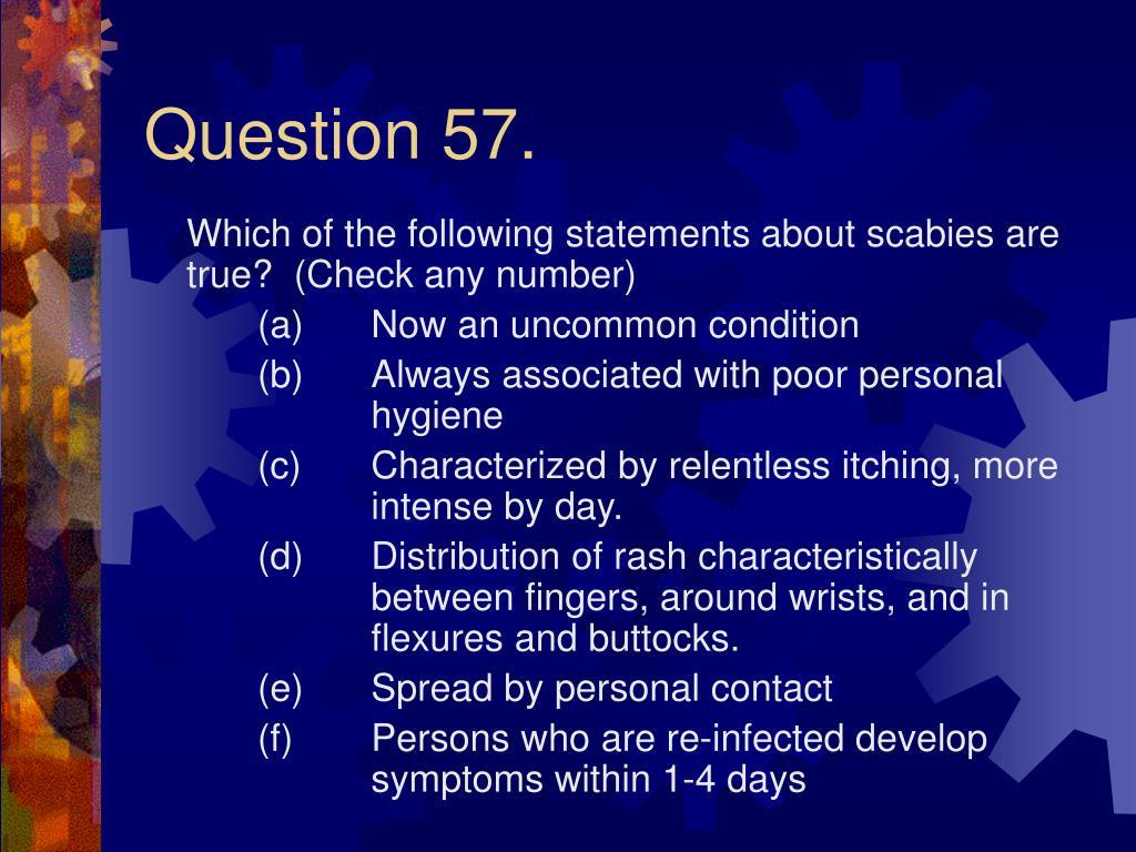 Question 57.