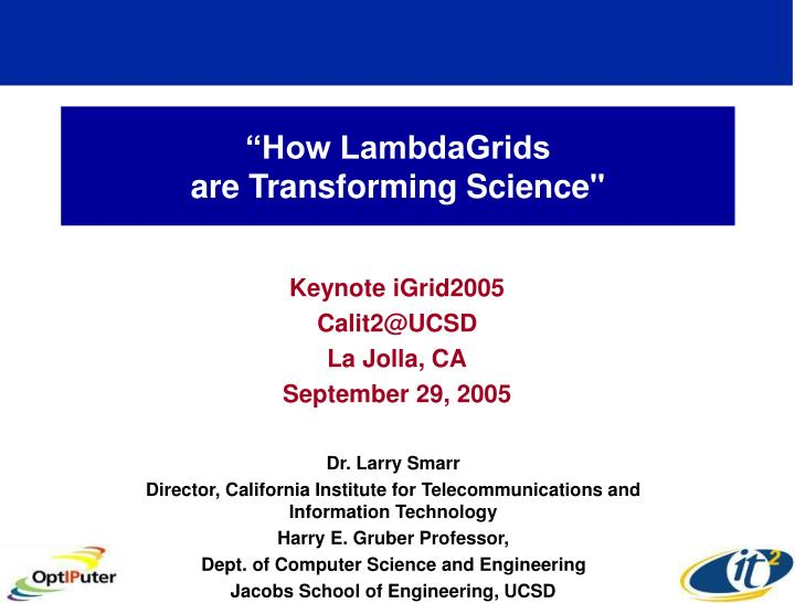 How lambdagrids are transforming science