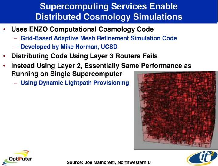 Supercomputing Services Enable