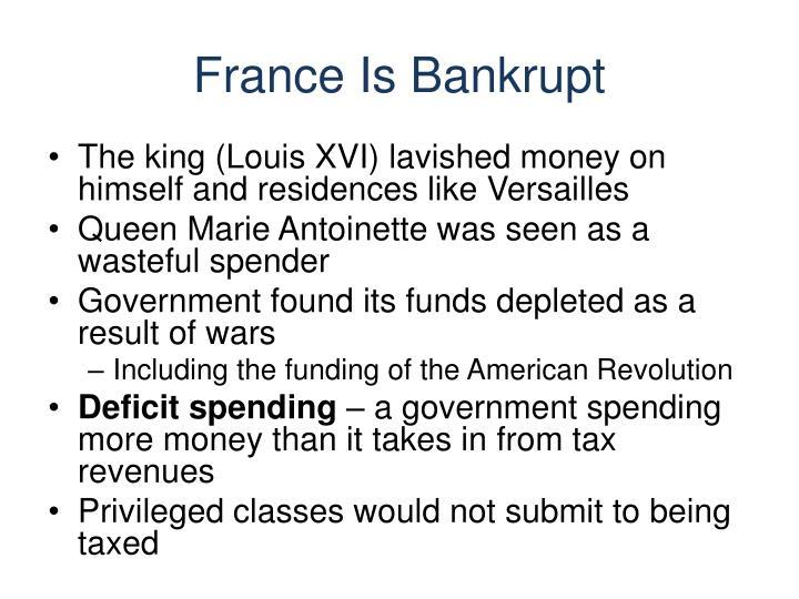 France Is Bankrupt