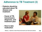 adherence to tb treatment 3