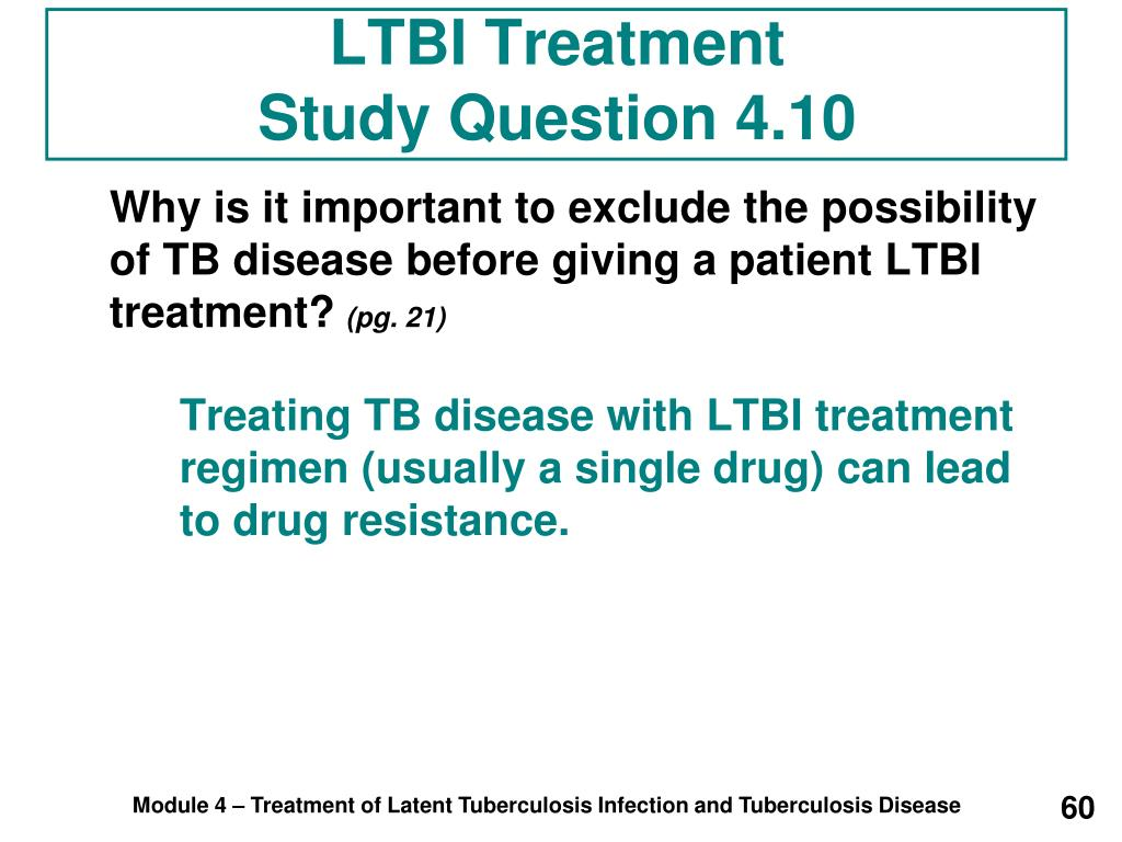 LTBI Treatment