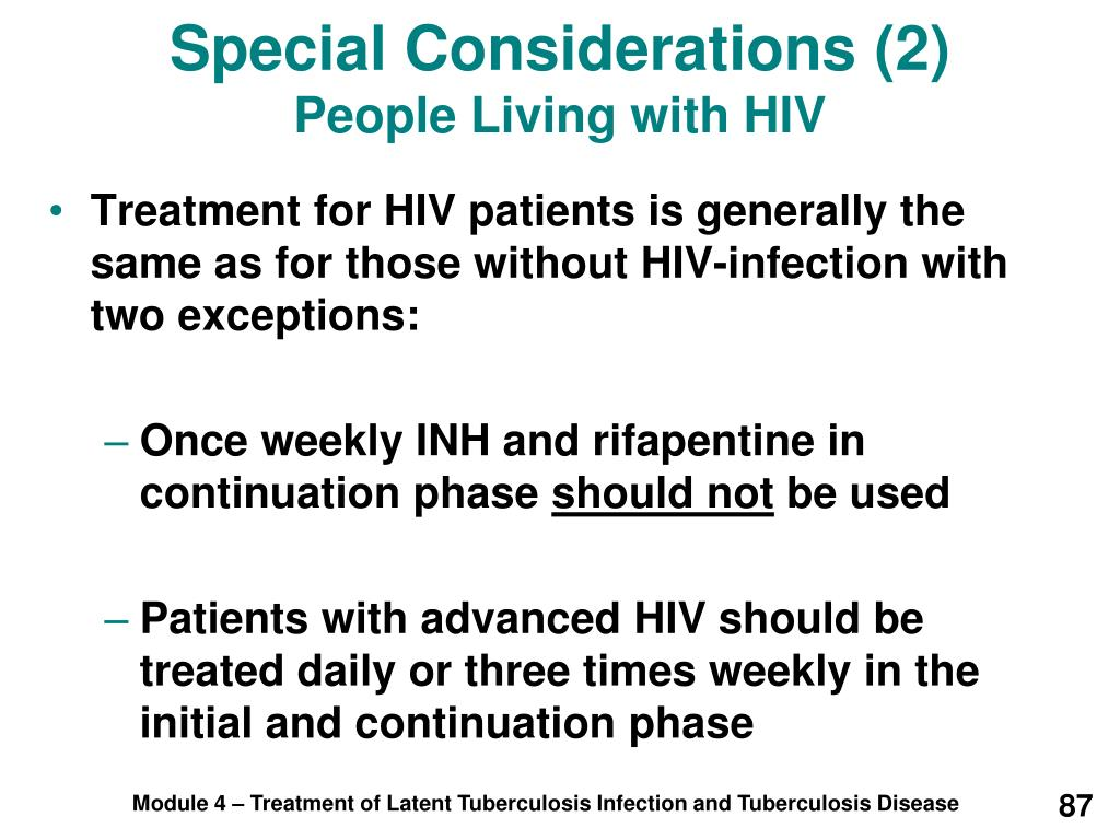 Special Considerations (2)