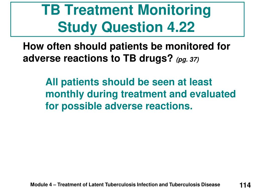 TB Treatment Monitoring