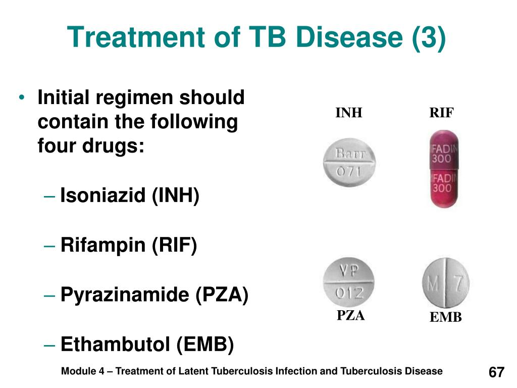 Treatment of TB Disease (3)