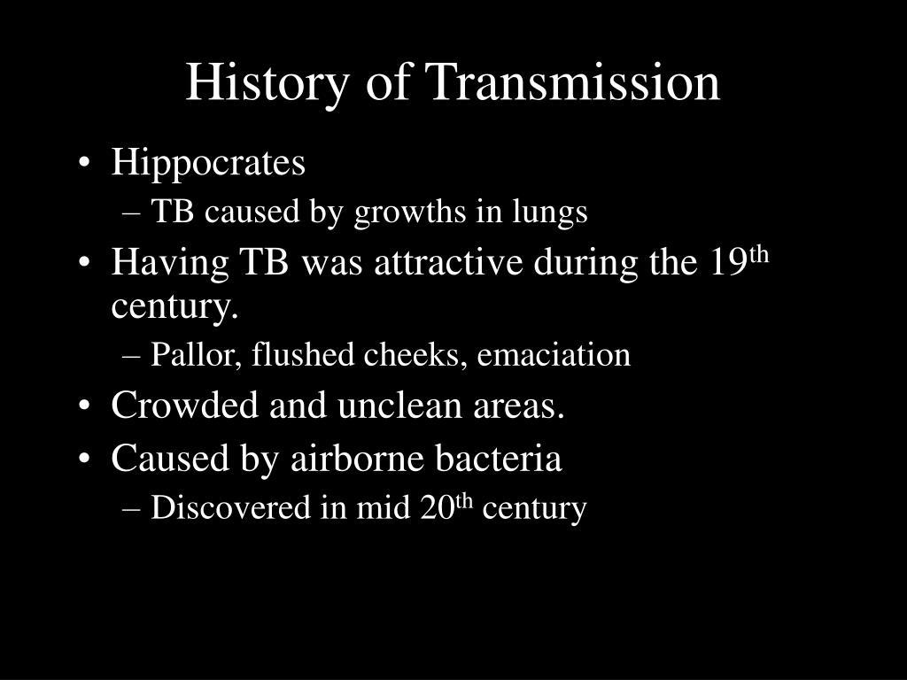 History of Transmission