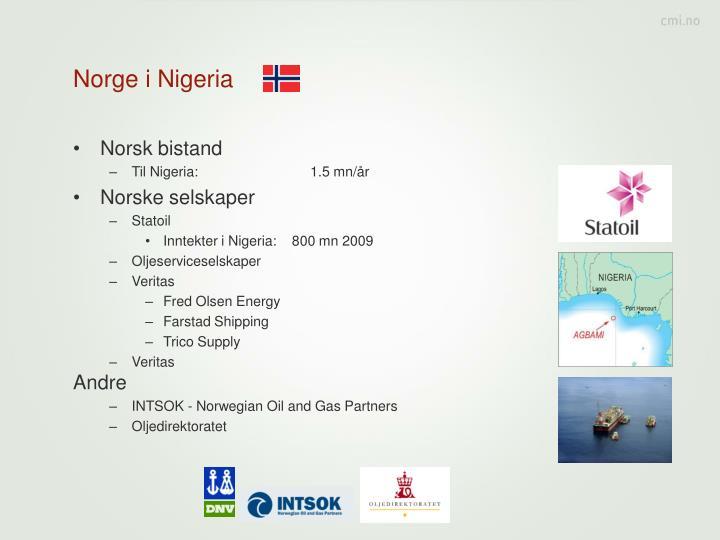 Norge i Nigeria