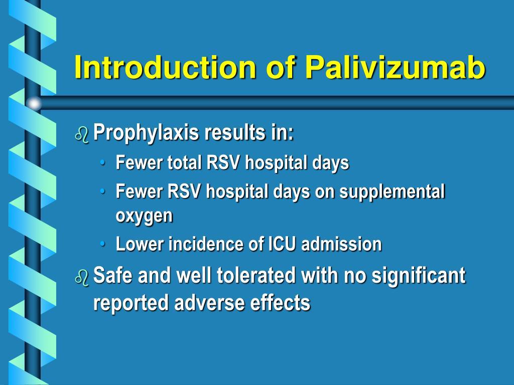 Introduction of Palivizumab