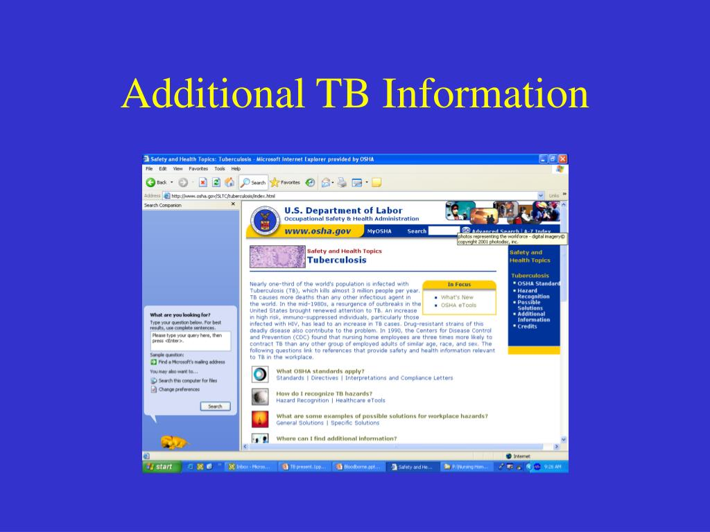 Additional TB Information
