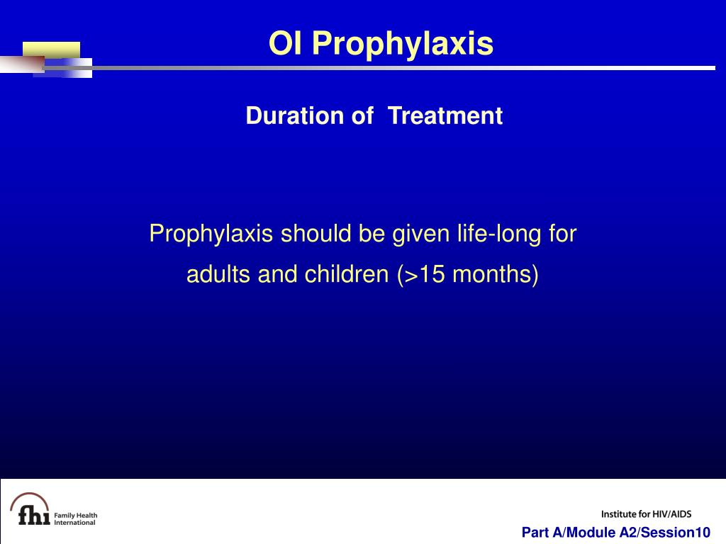 OI Prophylaxis