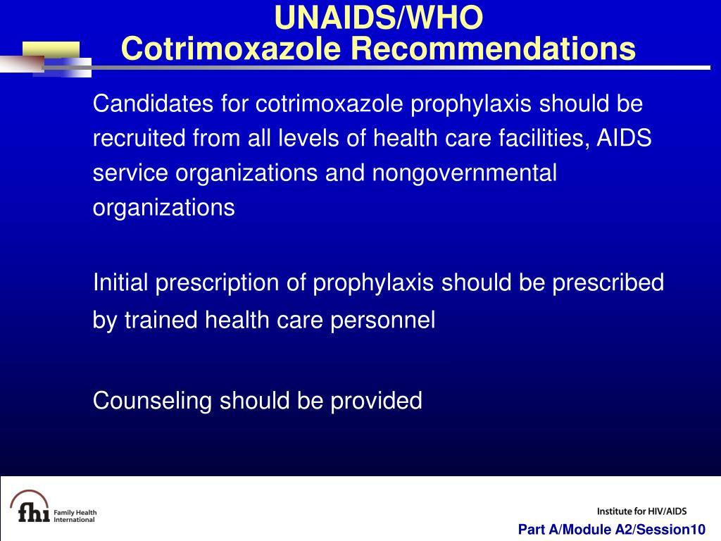 UNAIDS/WHO