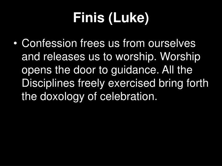 Finis (Luke)