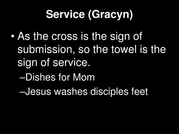 Service (Gracyn)