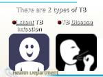 there are 2 types of tb