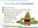 why take my medications
