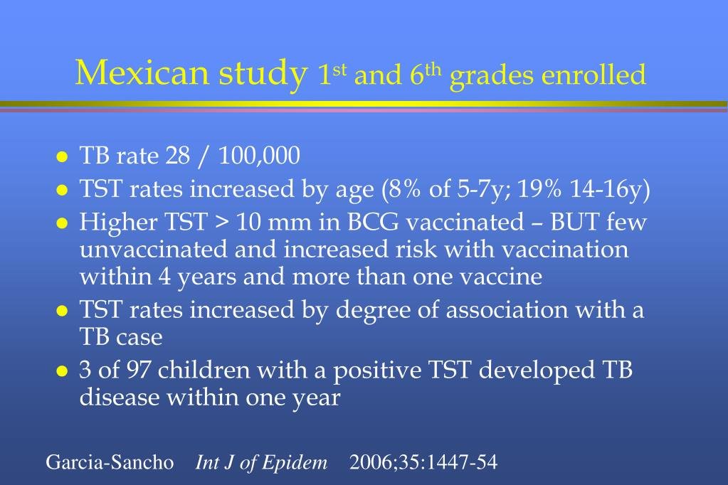 Mexican study
