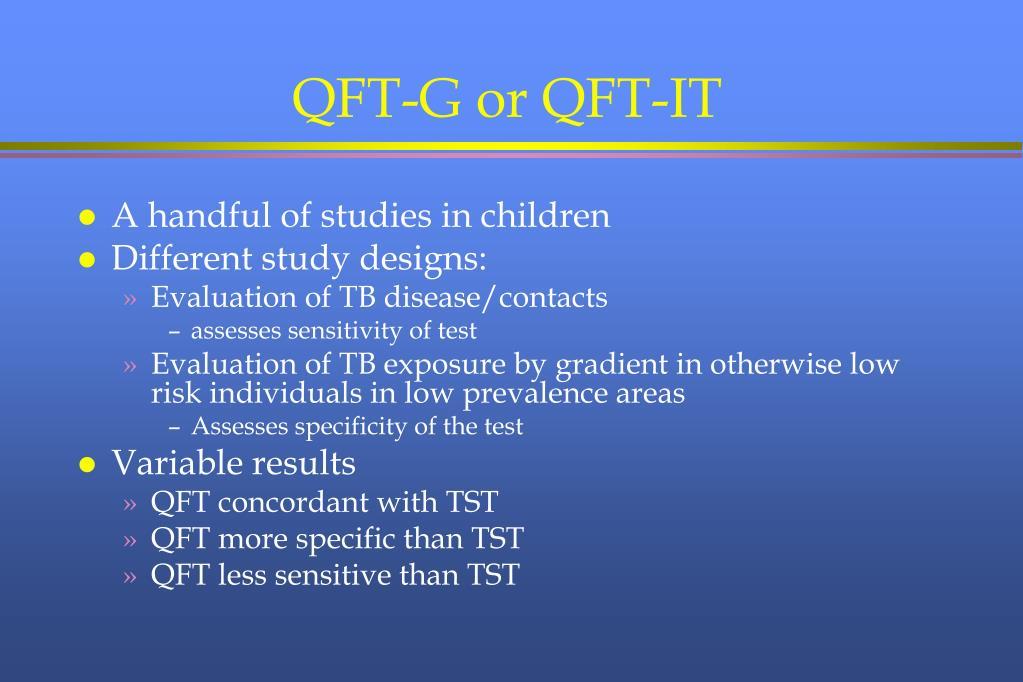 QFT-G or QFT-IT